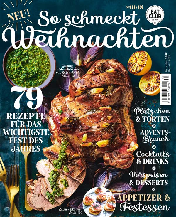 Cover So schmeckt Weihnachten - EAT CLUB