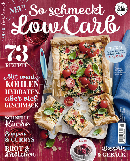 Cover So schmeckt Low Carb EAT CLUB