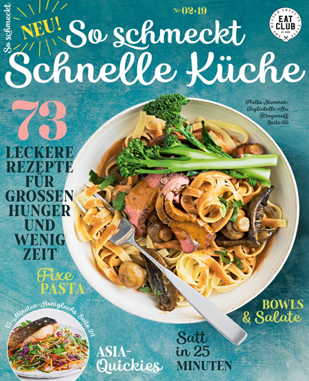 Cover So schmeckt schnelle Küche EAT CLUB