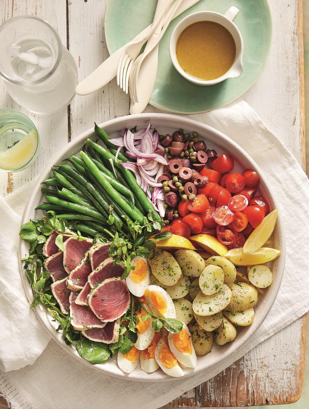 bunter Salat Sommer EAT CLUB