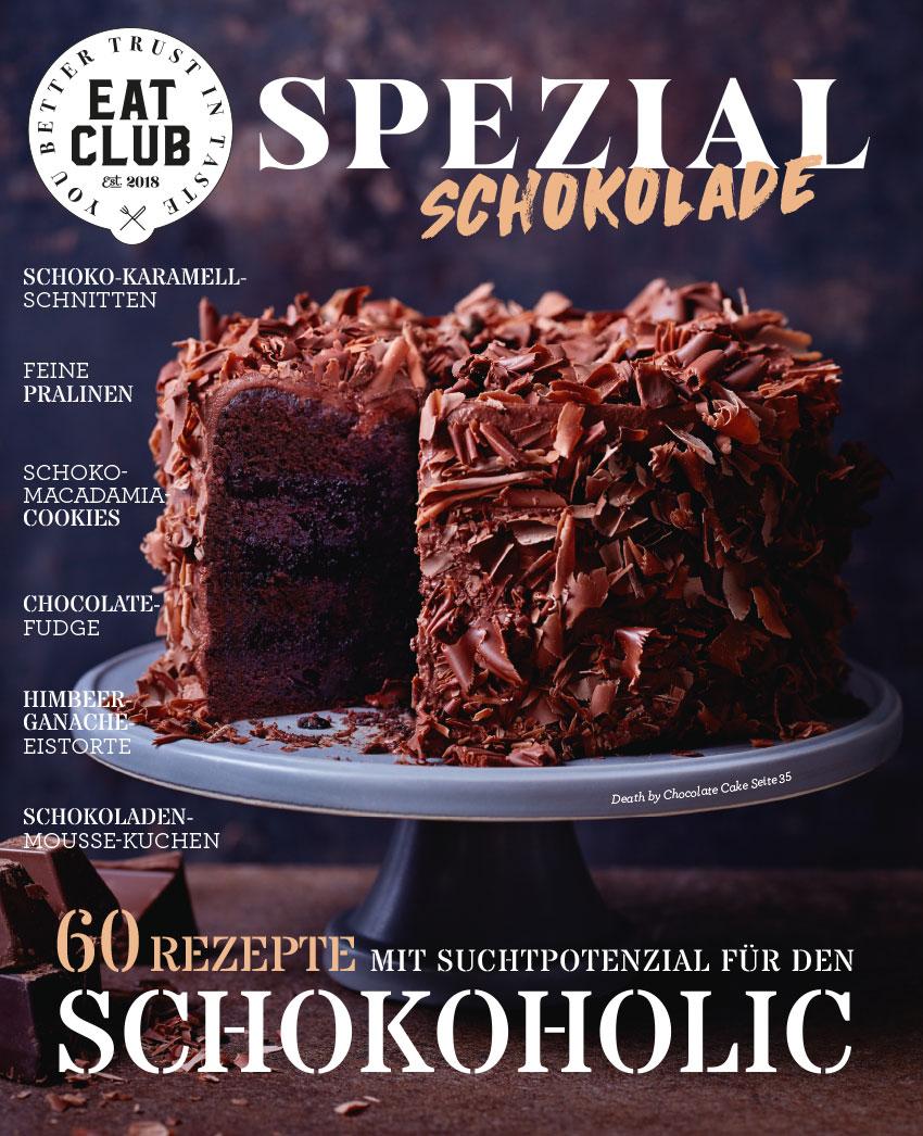 Cover EAT CLUB Spezial Schokolade