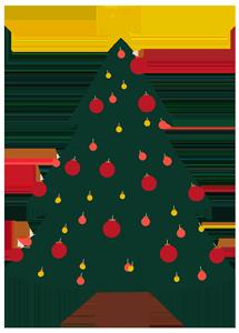 Weihnachtsbaum EAT CLUB