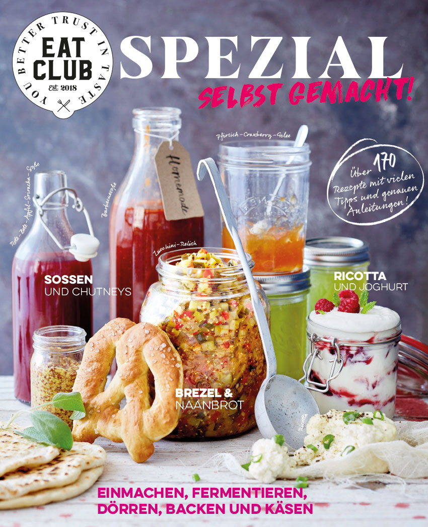 """EAT CLUB Spezial """"Selbst gemacht!"""" Cover"""