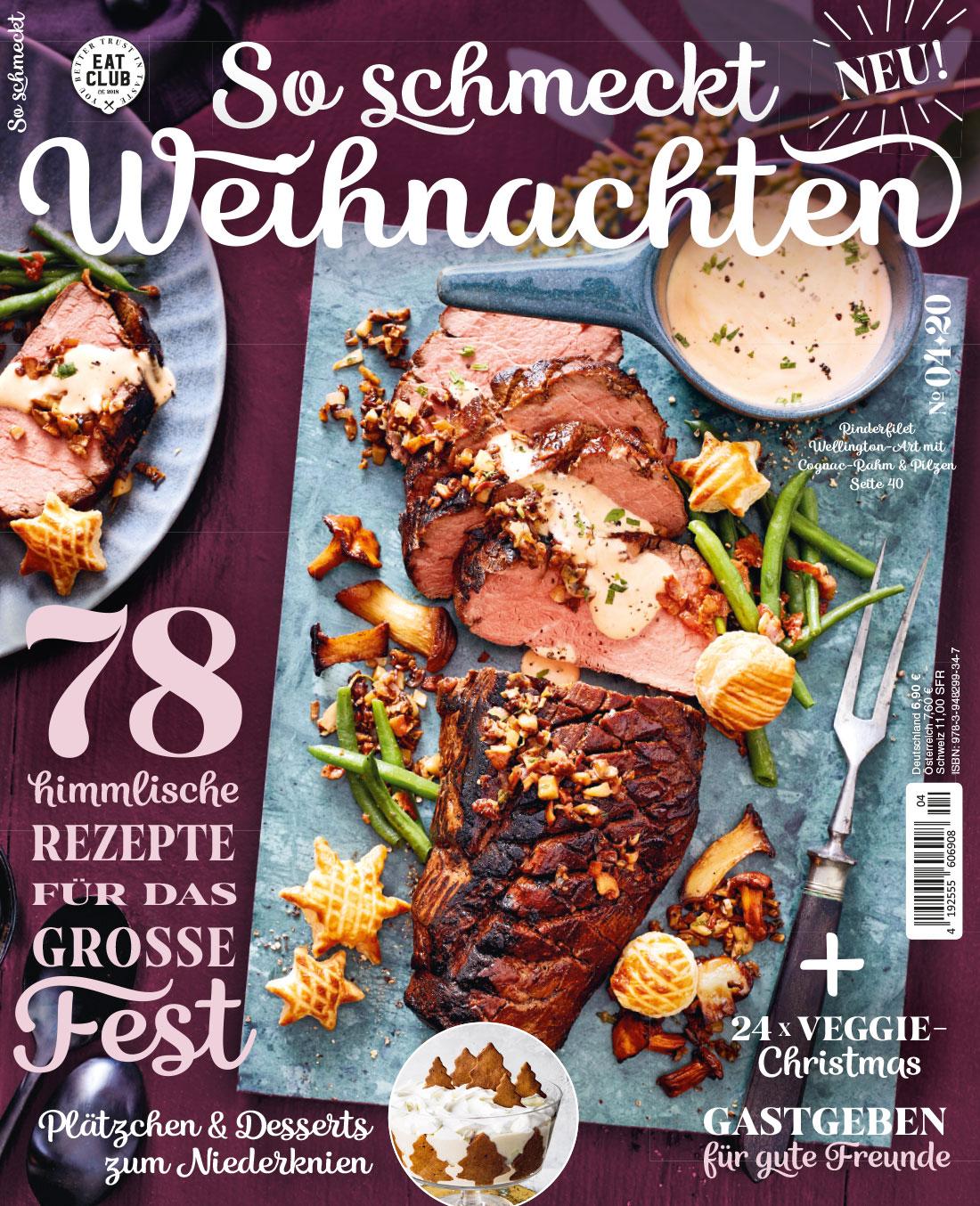 """Cover """"So schmeckt Weihnachten"""", EAT CLUB"""